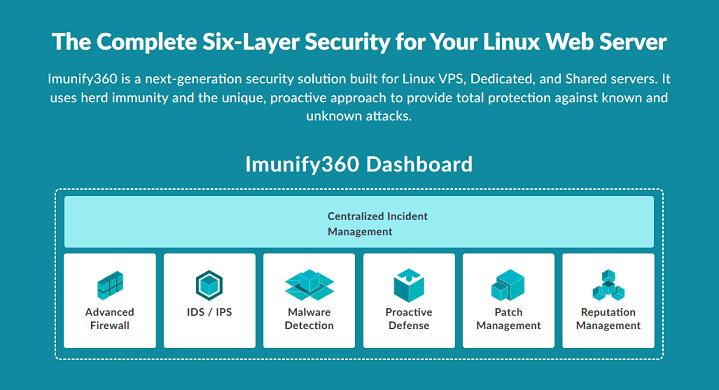 Imunify360 セキュリティシステム概要