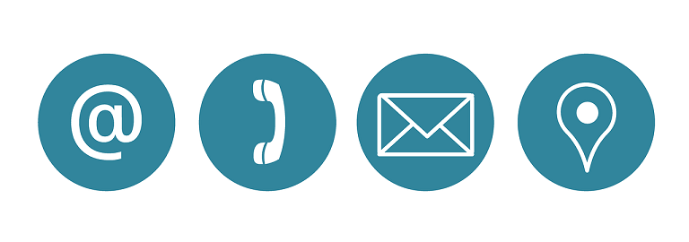 電話、メール、チャットなどの問い合わせ手段