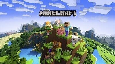Minecraftイメージ画面