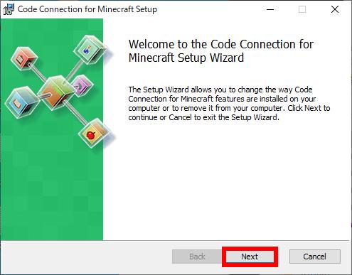 Code Connectionのインストール画面表示