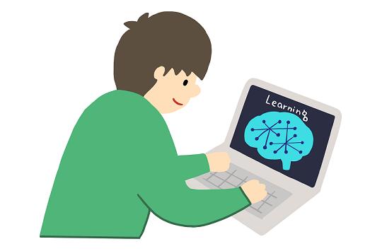AIを学習している絵