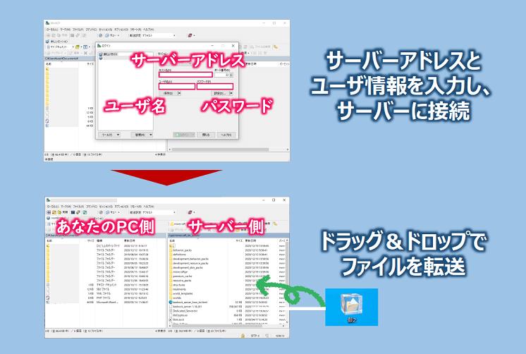 WinSCPの使い方