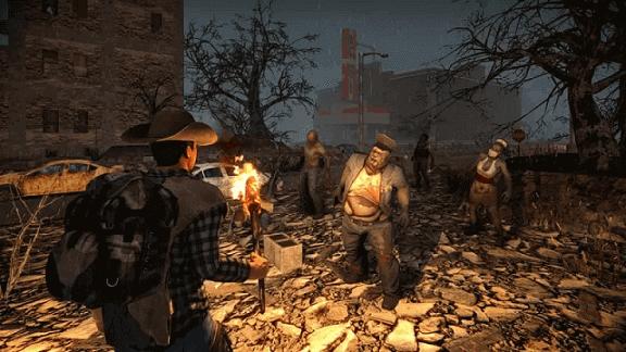 7 Days to Dieゲーム画面